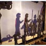 ...Jakob, Torwächter, Esel mit Gold, sowie Ratte und Kröte...