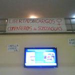 Cartel de apoyo a los participantes en el sacrilegio de Somosaguas.
