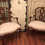 chippy distressed antique furniture painted farmhouse platypus magnolia farms NJ local home design custom shabby chic cheap affordable updated refinish vintage pinterest chester chalk milk annie sloan interior designer new jersey cream neutral white USA