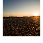 street, sun, darkness
