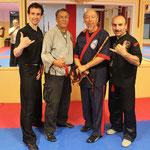 Sifu Jose, GM Al Dascascos, GURU Ron Lew, Sifu Dasos