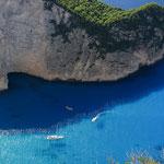 Shipwreck Beach auf Zakynthos Griechenland
