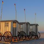 Die historischen Badekarren von Norderney - Deutschland