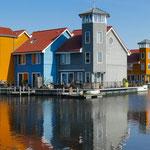 Reitdiephaven, Groningen, Niederlande