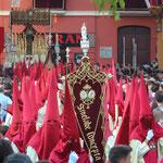 Karprozession in Sevilla, Spanien