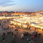 Platz der Gaukler, Marrakesch - Marokko