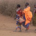 Massaifrauen, Massai Mara - Kenia