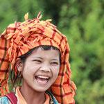 Mädchen am Inle See - Myanmar