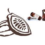 """Hintergrundzeichnung """"Kakaobohne"""" für Niederegger Produkte"""