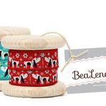 Illustration für Nähbänder der Firma Bealena