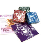 Motivgestaltung für weihnachtliche Pappschachteln für die Zeitschrift Brigitte