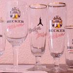 Becker Brauerei St.Ingbert Bierglas