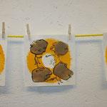 """Yellow Dots Engramms"" - Sonja Tintelnot"