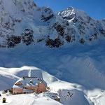 Blick zur Schaubachhütte