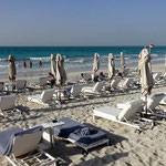 Beach Club auf Yas Island