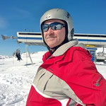 Schöntauf auf 3250m über Meer (Madritsch Skigebiet)