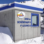 Höchste Bergstation des Sesselliftes