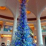 Empfangshalle des Hotel Atlantis
