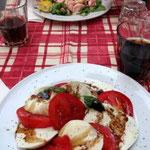 ....und Tomaten Mozzarella