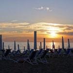 Sonnenuntergang Marina di Massa