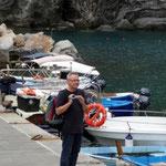 RIOMAGGIORE - Cinque Terre Ankunft per Boot