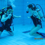 Unterwasserverständigung:-)