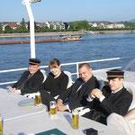 Dampferfahrt auf dem Rhein