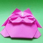 'でぶねこ Tubby Cat。2005/7/13創作。正方形1枚。