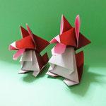 シェルティくん(ちび)Shelty-kun,Pup。2006/8/4創作。正方形2枚。