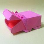 かばばこHippopo-Box。1980/11/05創作。1:2長方形2枚。
