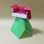 ししまい Shishimai 。2017/10/24創作。正方形2枚。