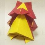 'たぬきくん(ちび) Tanuki-Kun,pup。2004/8/14創作。正方形2枚。