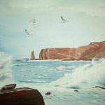 """Helgoland"" -  80 x 60 cm - Öl auf Leinwand"