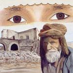"""Quo vadis Afghanistan?"" - 80 x 60 cm - Öl auf Leinwand"