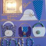 Accessoires Paris bleu 70x50