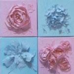 deccoupages roses bleu 8x20x20