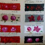 Tissus fleurs 100x100