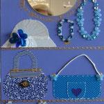 Accessoires Paris bleu 80x40