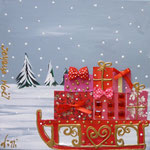 Neige à Noel detail