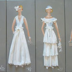 Robes blanches 2015 4x20x50