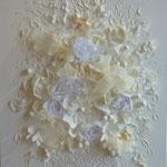 Bouquet de mariage 70x50