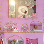 Sacs de Paris pink 70x50