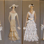 Robes blanches  4X20X50