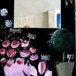 Fleuriste 100x50