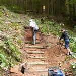 Création d'un nouvel escalier