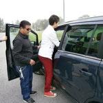 Autofahren mit Klick-Sonar?