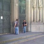 Der Eingang des Neuen Doms