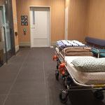 介護タクシー北斗 車椅子待合室 丸の内南口
