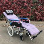 リクライニング車椅子 寝かした場合