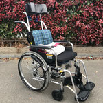 ヘッドレスト装着 標準車椅子